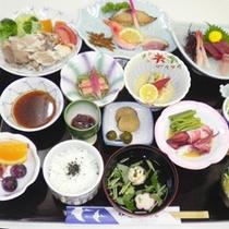 *【夏季限定御膳】メインは秋田県産ブランド豚「八幡平ポーク」の冷しゃぶ。