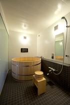 ジャパニーズスタイル[ZEN]浴室ヒノキ風呂