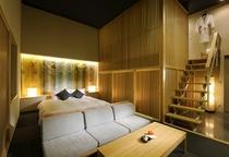 ジャパニーズスタイル[禅] 寝室