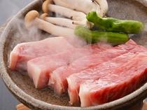 お料理一例(陶板焼き)