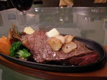 屈斜路和牛のステーキ