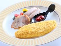 朝食一例(選べるエッグプレート)