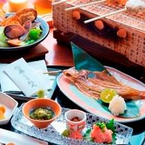 海の幸と野菜たっぷりのご朝食