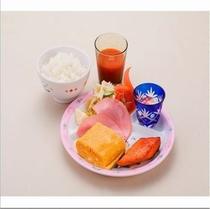 お子様ランチ(ご朝食例) 500