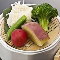 自家製イカしゅうまい・宗像野菜(イメージ)
