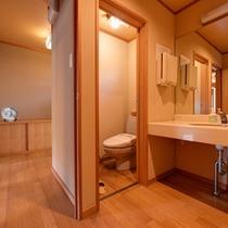 *和室10畳(客室一例)/清潔を心がけたお部屋。洗面処も広々とご使用いただけます。