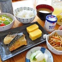 【朝食の一例】しっかり朝食をとって一日を楽しみましょう♪※朝食は日替わりです。