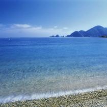 澄んだ綺麗な海水も自慢です♪