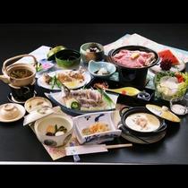 【グレードアップ】【グレードアップ】イワナのお造り&とちぎ和牛の陶板焼きでちょっぴり豪華な夕食を…