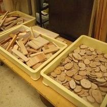 *【木工材料】パーツごとに分けられこれから作業開始!