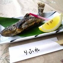 *【岩魚の塩焼き】ガブっとどうぞ!