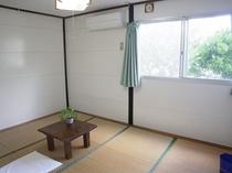 6畳和室(エアコン付)