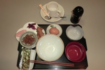 和朝食@400(税込み)