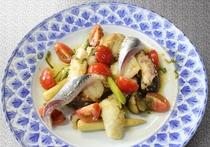 海鮮マリネのサラダ