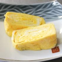 【朝食一例】人気のアツアツできたて出汁巻き玉子