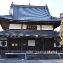 *【周辺スポット】武田家縁の寺院「向嶽寺」。当館より徒歩約5分です!