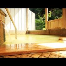 ◆玄武温泉かけ流しの露天風呂