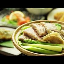 ◆こだわりの雫石牛と新鮮野菜