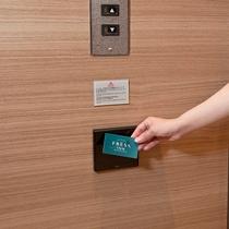 エレベーター用セキュリティーパネル