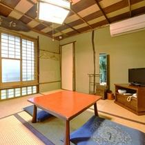 【離れ】すべて異なる間取りの和室。静かな大人の旅を楽しんで頂けます。