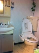 洗面所&シャワートイレ
