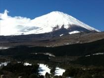 冬季富士山 横ワイド