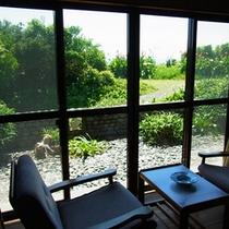 海側客室からの景色