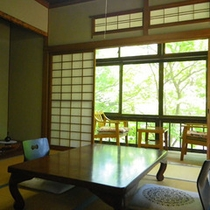 *四季折々の自然とともに/和室客室一例