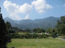 施設からの景色