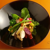 但馬冬野菜のサラダ