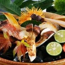 【秋】香り高い秋の味覚 松茸をお楽しみください