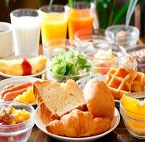 和洋バイキング朝食