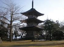 五智国分寺 三重の塔