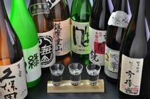 新潟地酒 9種常備しております。
