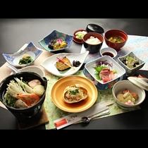 【冬季・ご夕食一例】会席料理7品リーズナブルコース