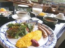 ある日の洋朝食