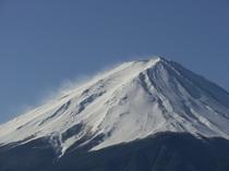 冬の富士山はいいでしょう。