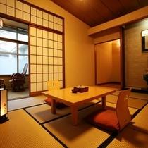 【旧館・玄水亭】和室の一例