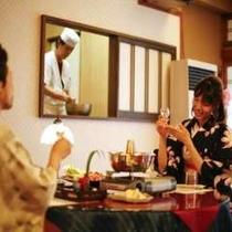 昭和レトロな和ダイニング「星のランプ」で板さんの天ぷらも♪