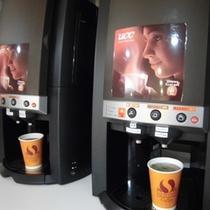 朝食会場コーヒー