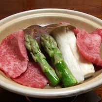 ご夕食例【豊後牛】