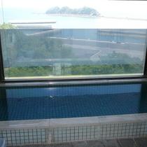海が見える展望風呂