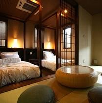 【デザイナーズ離れ】2階・和洋室(ツイン)