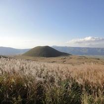 阿蘇登山道の景色