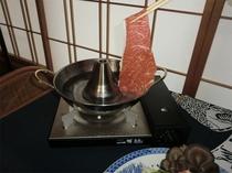 岩手牛しゃぶしゃぶのお鍋