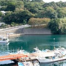 渡良浦の港