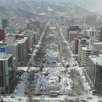 大通公園~冬~