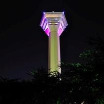 五稜郭タワー~ピンクライトアップ~