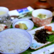 *【朝食一例】ツヤツヤご飯の正体は...えびの市名産の「ヒノヒカリ」!
