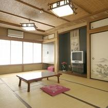 *【客室例】畳のお部屋での〜んびり♪ごゆっくりとお寛ぎ下さいませ。